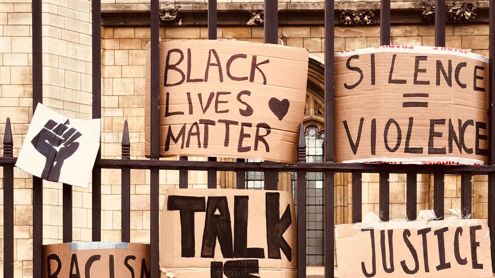 Black Lives Matter. Silence = Violence.
