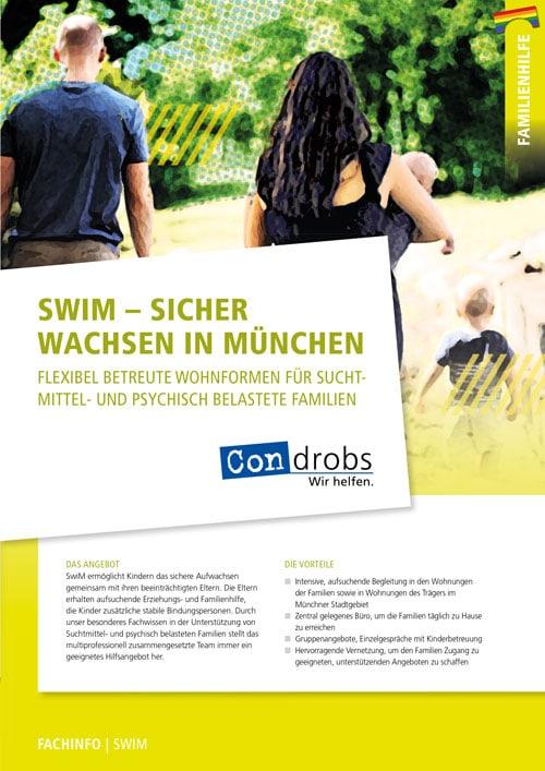 SWIM - Sicher Wachsen in München Flyer