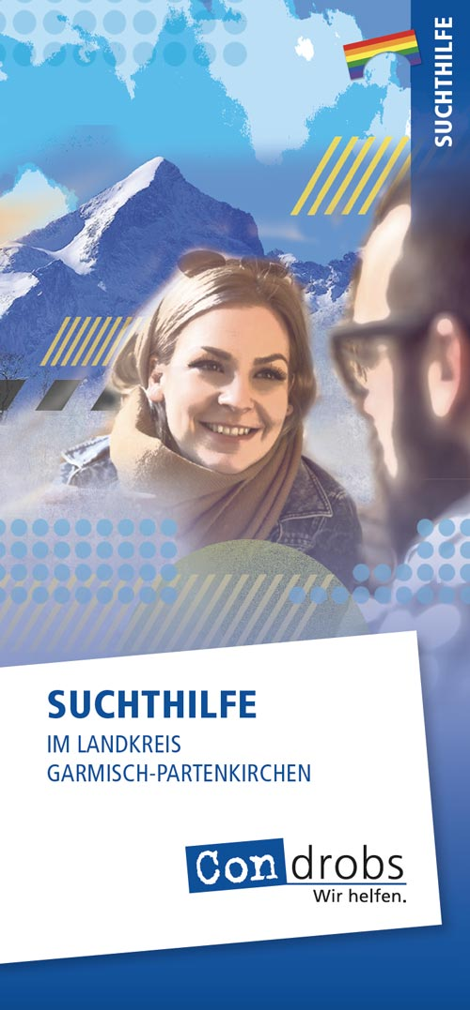 Flyer Suchthilfe in Garmisch-Patenkirchen