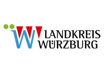 Logo Landkreis Würzburg