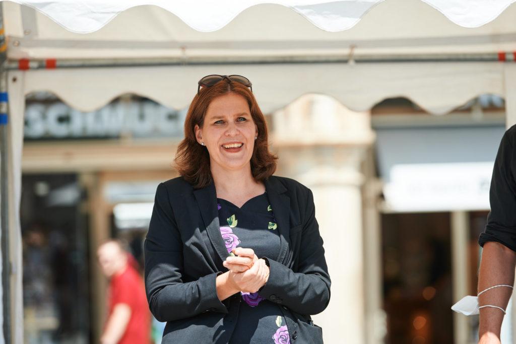 Frau Bürgermeisterin Verena Dietl, in Vertretung von OB Dieter Reiter