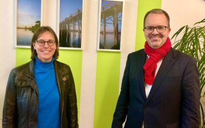 Neuperlach: Rinderspacher besucht Suchtfachstelle