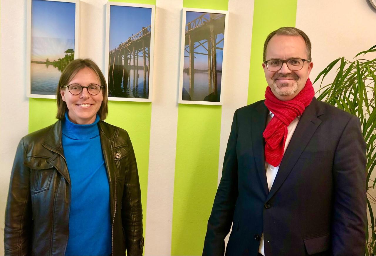 Markus Rinderspacher und Susanne Taubmann